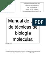 Manual Para Técnicas de Biología Molecular