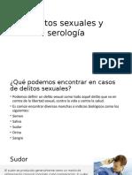 Delitos Sexuales y Serología