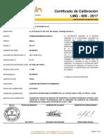 LMG 009 2017 PHARMA Termohigrómetro TM 03