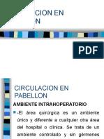 Circulacion en Pabellon