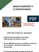 Hemorragia Posparto y Shock Hipovolemico