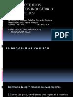 Programas de For