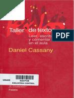 Daniel Cassany -Taller de Textos. Leer, escribir y comentar en el aula.pdf