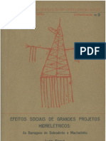 SIGAUD, Lygia - Efeitos sociais de grandes projetos hidrelétricos - as barragens de Sobradinho e Machadinho.pdf