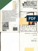 Historia de La Tecnología Desde 1900 Hasta 1950 (I). Derry y Williams