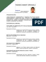 Alvaro Fernando Asmat Orihuela c.v. - f