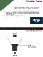Capacidad y Control