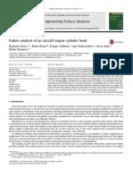 Failure analysis of an aircraft engine cylinder head.pdf