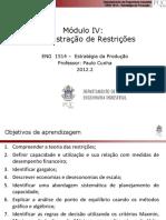 Modulo4 - Administração de Restrições