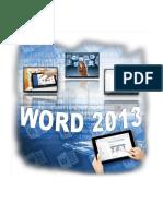 Manual Infouni - Word 2013