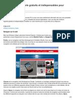 01net.com-Les Meilleurs Logiciels Gratuits Et Indispensables Pour Windows