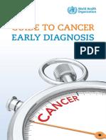 Guide Cancer Earli Diagnosis