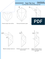 Diagrama cisne de Origami
