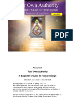 Your Own Authority a Beginners Guide to Human Design