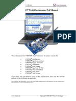 Multi Instrument Manual