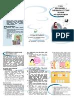 Leaflet Tips Ibu Hamil Menyusui Berpuasa