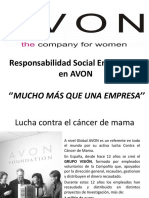 Responsabilidad Social Empresarial en AVON