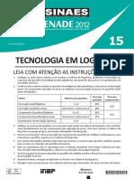 ENADE 2012 - Tecnologia em Logística.pdf