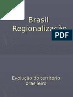 Brasil Regionalizac3a7c3a3o
