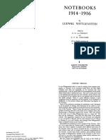 Ludwig Wittgenstein - Notebooks 1914 - 1916.pdf