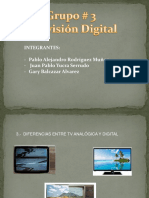 Grupo 3 - Exposición Televisión Digital