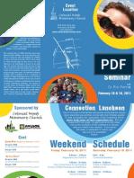 Visionary Parenting Seminar Brochure