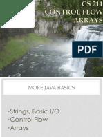 03.Control Flow Arrays