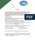 Informe Fisica 1 Tema Analisis Grafico Ll
