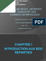 Chapitre I Intro BDD Répartie