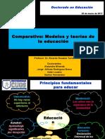 Modelos y Teorías de La Educación Comparativa (Pres. 25.03.2017)