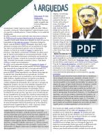 Biografia de Jose Maria Arguedas-discurso en El Politeama