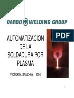 Automatizacion de La Soldadura Por Plasma Paw