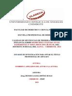 2 (Pena y Repar Civil) Informe Penal