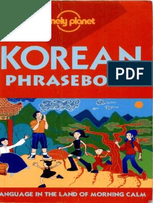 Korean Phrase Book | Korean Language | Korea
