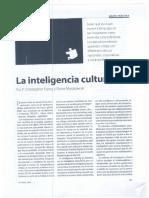 Inteligencia Cultural CQ