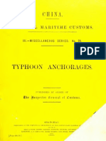 (1893) Typhoon Anchorages (Pilot Guides)