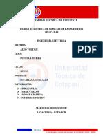 Universidad Técnica de Cotopaxi Puesta a Tierra