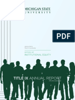2015-2016 Title IX Annual Report