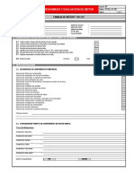 Formato de Desarmado Motor 170-1-2