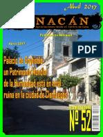 Revista Nacan # 52.