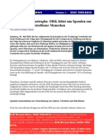 Duisburg DRK Opferhilfe Spenden