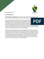 AGR Response Letter