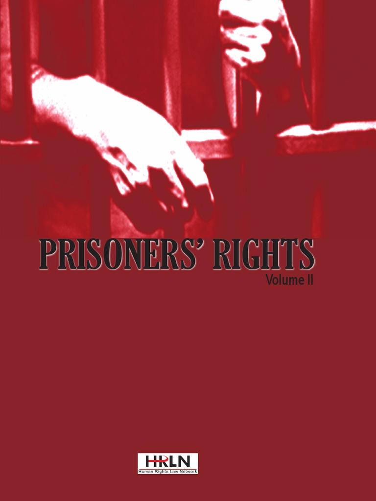 prisoners rights volume ii pdf | Prison | Supreme Court Of India