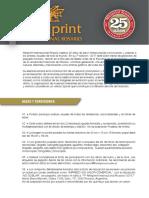 Bases Miniprint Rosario 2017