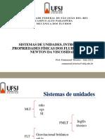 Aula 01 Propriedades Físicas 2017 I