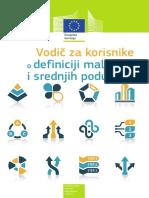 Vodič za korisnike o definiciji malih i srednjih poduzeća.pdf