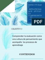 ESTRUCTURAS Y ESTRATEGIAS QUE APOYAN LA COMPRENSION