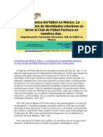 La Dinámica Del Fútbol en México