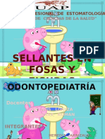Tto. en Maqueta. Sellante Odontopediatria