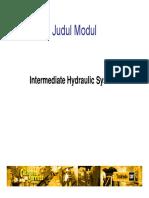 Intermediate Hydraulic